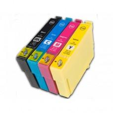 ink EPSON PACK BLACK,MAG,CYAN,YELLOW S PIGM. DURABriteUltraS22,BX305F Size M (C13T12854010) - NOLIT