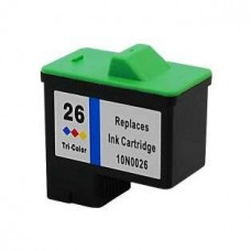 ink 10N0026 (26) COLOR FOR LEXMARK 275pag. - NOLIT