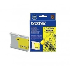 BROTHER INK LC-1000  YELLOW (400 pag.)